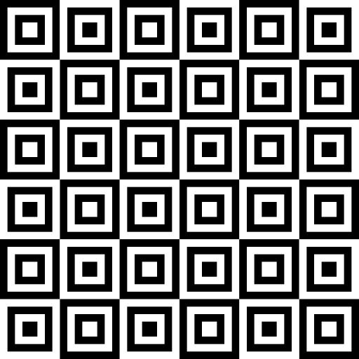 اشكال زخرفية هندسية مربعات Png