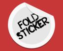 Fold Sticker