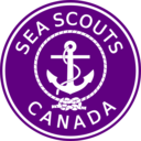 download Sea Scouts Canada clipart image with 45 hue color