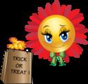 Trick Or Treat Smiley Emoticon