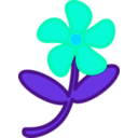 download Flower Peterm 01 clipart image with 135 hue color