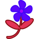 download Flower Peterm 01 clipart image with 225 hue color