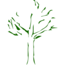 download Tree Icon clipart image with 315 hue color