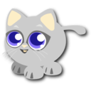 download Baby Cat clipart image with 45 hue color