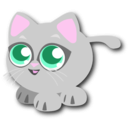 download Baby Cat clipart image with 315 hue color