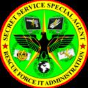 Secret Service Special Agent Rescue Force It Administration Badge
