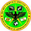 Secret Service Special Agent Rescue Force It Administration Badge