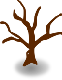 Rpg Map Symbols Deserted Tree