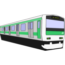 download Yamanote Train clipart image with 45 hue color