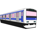 download Yamanote Train clipart image with 135 hue color