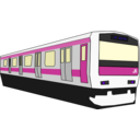 download Yamanote Train clipart image with 225 hue color