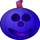 download Pumpkin clipart image with 225 hue color