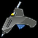 Glue Gun Tango Icon With Shadow