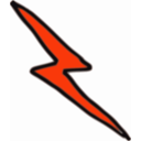 download Cheap Lightning Bolt clipart image with 315 hue color