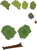 Forest Map Elements