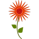 download Flower Sunflower clipart image with 315 hue color