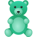 download Teddybear clipart image with 135 hue color