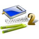 download Notepad Icon clipart image with 45 hue color