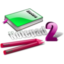 download Notepad Icon clipart image with 315 hue color
