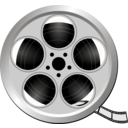download Movie Icon clipart image with 45 hue color