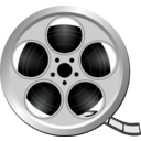 download Movie Icon clipart image with 135 hue color