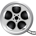 download Movie Icon clipart image with 225 hue color