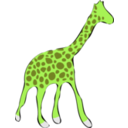download Giraffe clipart image with 45 hue color