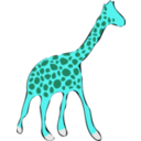 download Giraffe clipart image with 135 hue color