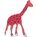 download Giraffe clipart image with 315 hue color