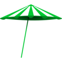 download Red White Umbrella clipart image with 135 hue color