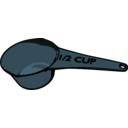 download Measuring Cup clipart image with 135 hue color