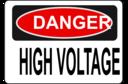 Danger High Voltage Alt 3