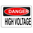 Danger High Voltage Alt 3