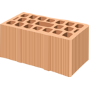 download Brick clipart image with 0 hue color