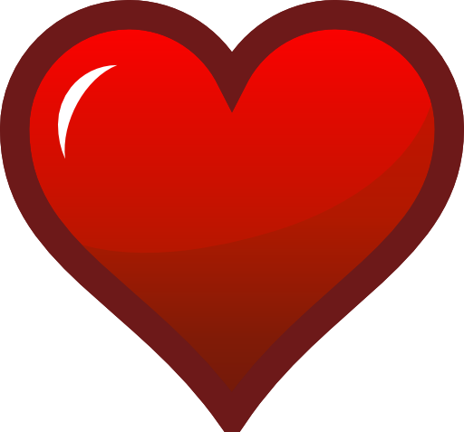 Red Heart Icon Clipart | i2Clipart - Royalty Free Public ...