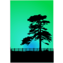 download Cedar Sunset clipart image with 135 hue color
