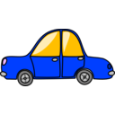 download Toy Car clipart image with 225 hue color
