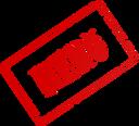 Menu Rubber Stamp