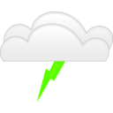 download Overcloud Thunder clipart image with 45 hue color