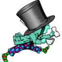 download Mad Hatter clipart image with 135 hue color