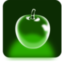 download Crystal Apple clipart image with 225 hue color