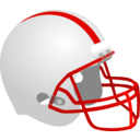 download Football Helmet clipart image with 0 hue color