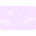 download Soft Blue Snowflakes clipart image with 45 hue color