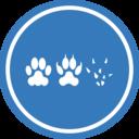 Cat Dog Mouse Unification Peace Logo