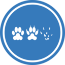 Cat Dog Mouse Unification Peace Logo