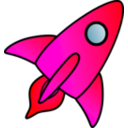 download Rocket Picture clipart image with 315 hue color