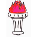 download Generic Torch 1 clipart image with 315 hue color