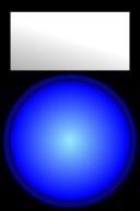 Voyant Bleu Allume Blue Light On