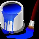 Color Bucket Blue