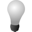 download Light Bulb clipart image with 225 hue color